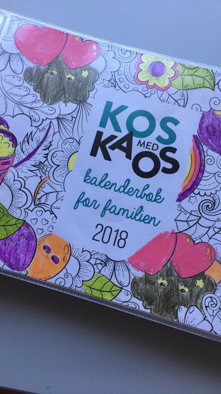 Kos med kaos kalenderbok for familien